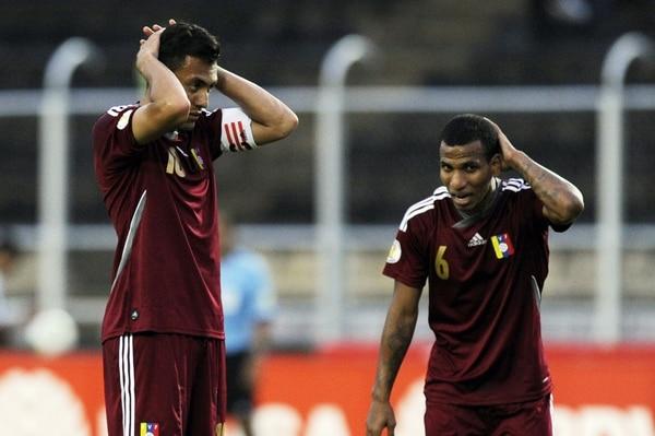 Venezuela quedó fuera de la Copa del Mundo Brasil 2014 tras empatar a 1 en su patio contra Paraguay, que llegó al encuentro ya eliminado.