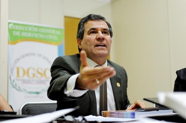 Según explicó José Joaquín Arguedas, el cronograma propuesto por el Servicio Civil segmenta a las instituciones bajo su régimen en siete bloques, cuyas pruebas se irían construyendo de manera paulatina.   MARCELA BERTOZZI