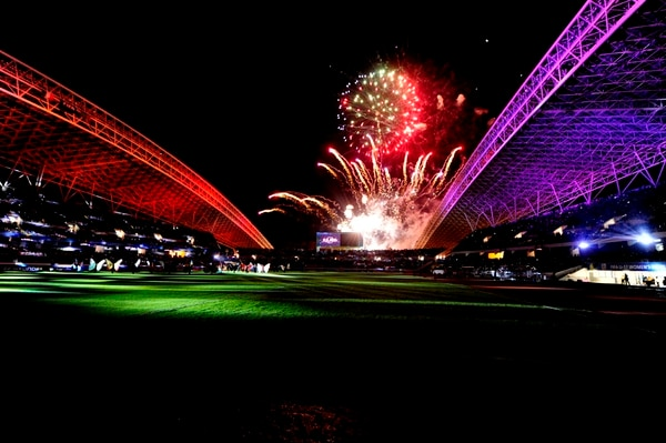 Costa Rica fue el anfitrión del Campeonato Mundial Femenino Sub-17, inaugurado el 15 de marzo del 2014, en el Estadio Nacional. Foto: Meilyn Aguilera