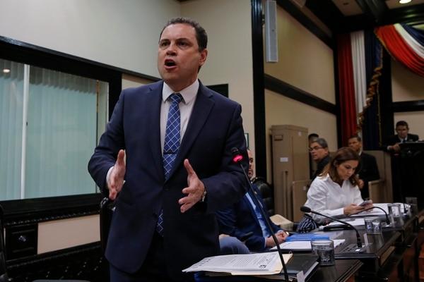 Carlos Ricardo Benavides, presidente legislativo, tomó la decisión. Foto: Mayela López