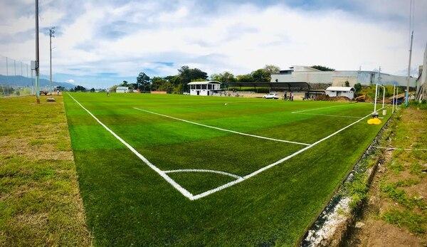 Esta sería la principal sede de las divisiones menores del Saprissa, la cancha de Llorente de Tibás. Fotografía: Facebook de la Municipalidad de Tibás