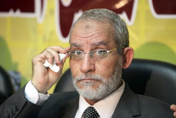 Foto de noviembre del 2010 de Mohamed Badie, líder de la Hermandad Musulmana | EFE