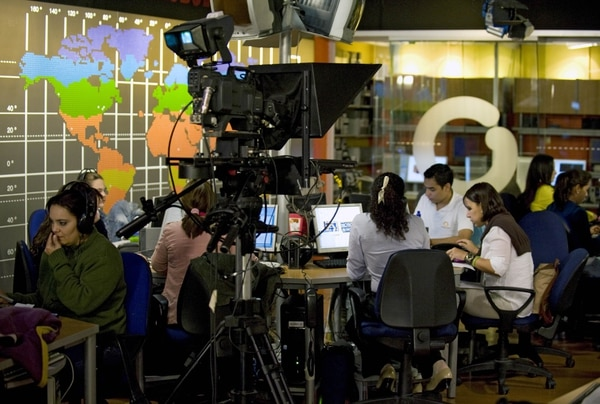 La televisora de Venezuela, Globovisión, decidió concluir relaciones con el grupo colombiano RCN Televisión y su filial internacional NTN24