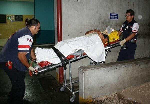 Motociclista está en condición grave en el hospital. | REINER MONTERO