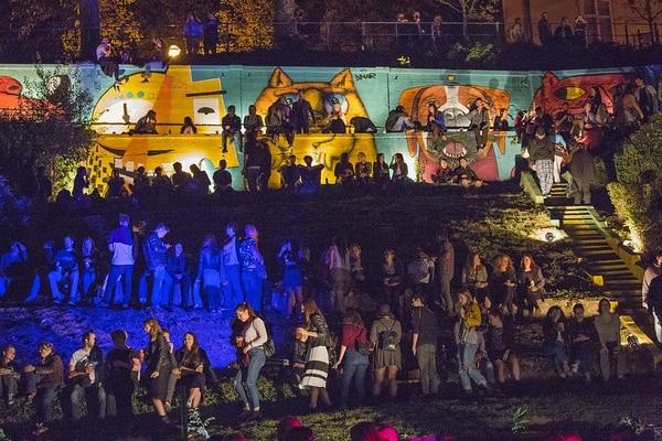 Este fue un concierto en el parque de Zagreb. Fotografía: Esteban Antillón Polini