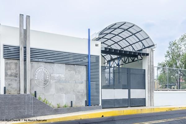 El paciente duró cuatro días internado en el hospital San Francisco de Asís, ubicado en Grecia. Foto: Tomada de la página web de la CCSS.