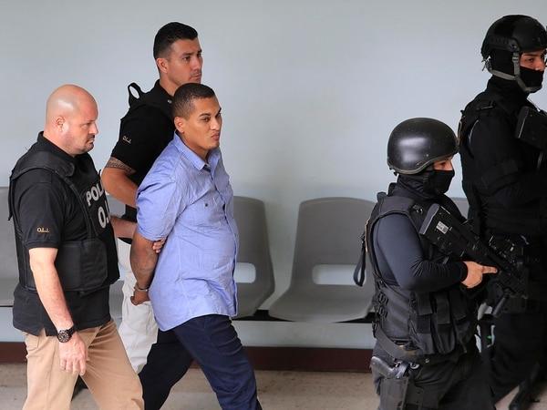 El caso por el que se sentenció a Ojos Bellos ocurrió el 29 de junio del 2014, en Pueblo Nuevo de Limón. En el sitio del ataque se recogieron 121 casquillos de armas de fuego, así como una granada de fragmentación que no explotó. Foto: Rafael Pacheco