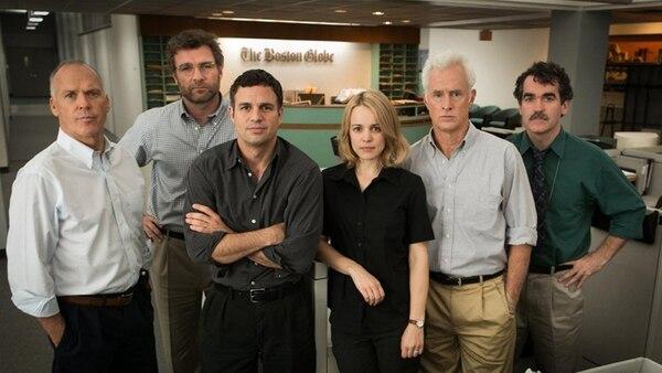 El elenco de Spotlight fue premiado en los premios SAG. Archivo