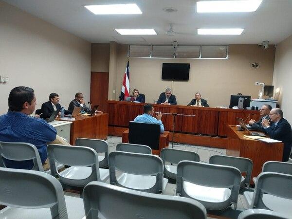 El investigador Gustavo Trejos fue uno de los testigos que declaró ante los jueces este jueves. Foto: Alejandra Portuguez