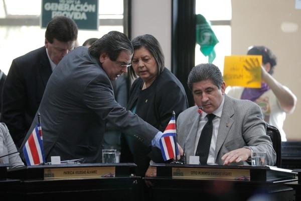 A Vargas, diputado del Partido Republicano Social Cristiano, se le imputa el delito de concusión. Foto: Jeffrey Zamora.
