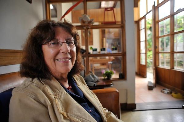 Activa. Mirta González Suárez ha sido una de las académicas más destacadas de la Escuela de Psicología. Jorge Navarro.