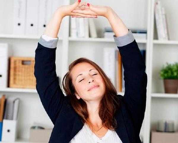 Es importante hallar espacios para liberar la tensión en su agenda de trabajo, en la oficina.