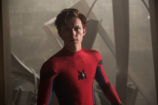 Tom Holland interpreta al ingenuo Peter Parker. Cortesía de Discine
