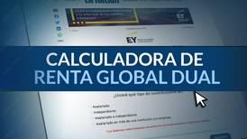 Calculadora de Renta Global Dual: Calcule aquí cuánto pagaría de impuesto