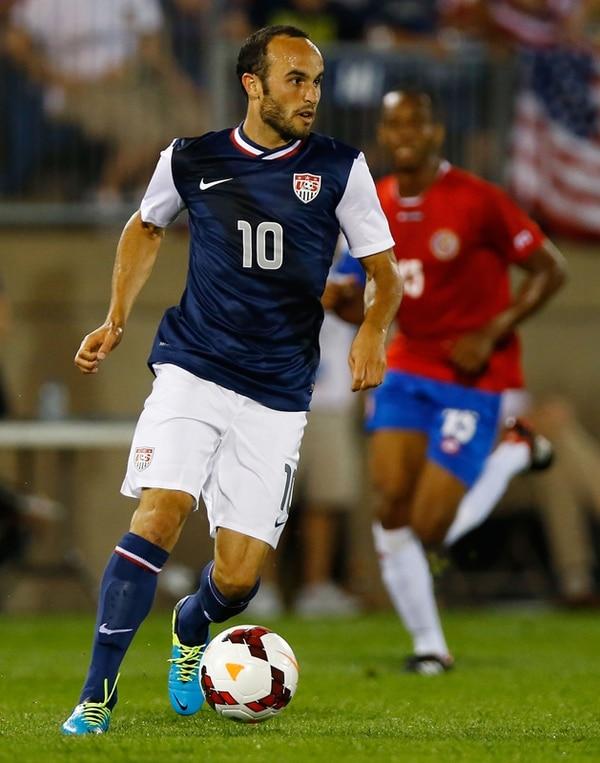 Landon Donovan dio una asistencia a Brek Shea para que EE.UU. derrotara a la Sele en la pasada Copa Oro 2013, 1-0. | AFP