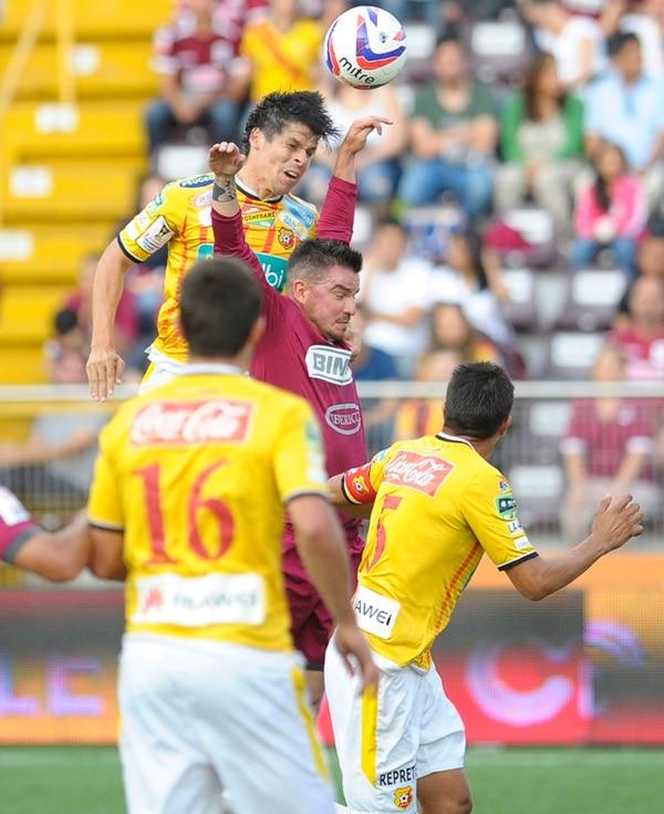 Badilla fue superado por el florense Cristian Montero. | LUIS NAVARRO
