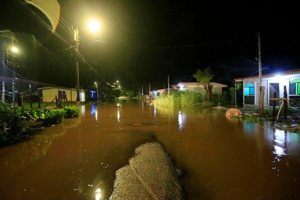 3/10/2020 Santa Cruz de Guanacaste. Fuertes lluvias por efecto indirecto del huracán Eta en comunidades de Santa Cruz. Foto: Rafael Pacheco