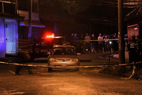 23/04/2018, PASOCA, Curridabat, San José, asesinan a dos masculinos con arma de fuego, foto Rafael Murillo