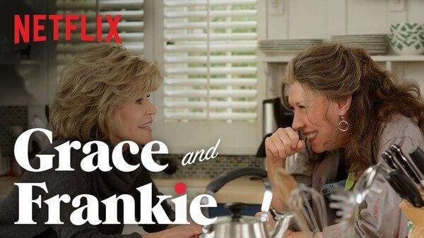 (Video) Aldelanto de la serie Grace and Frankie