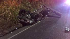 Aparatoso accidente en carretera Circunvalación deja dos fallecidos