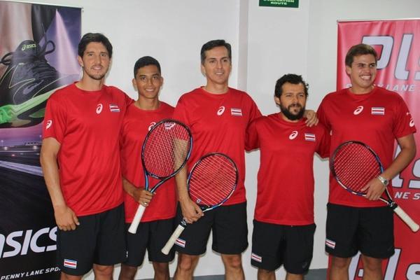 Ignaci Roca, Pablo Núñez, Julián Saborío y Diego Chavarría representarán a Costa Rica junto al capitán Kenneth Thome.