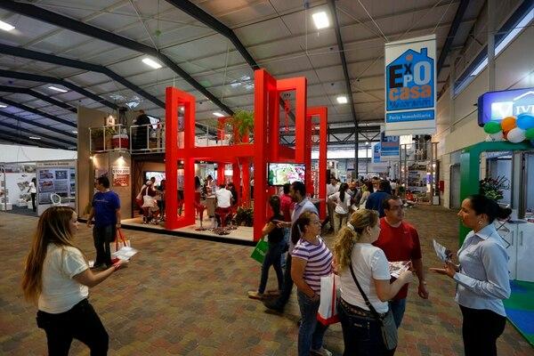 Se estima que más de 20.000 personas asisten a cada edición de Expocasa y Decoración, en las instalacones de Parque Viva, en La Guácima, Alajuela. Foto: Mayela López