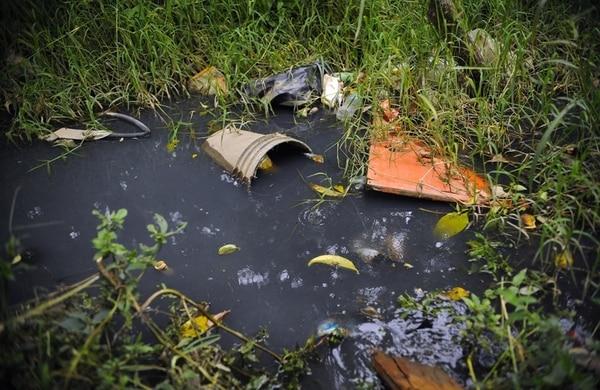 Los Guido, en Desamparados, es una de las zonas más afectadas por la infección de virus del dengue, debido al problema de la acumulación de residuos y aguas estancadas. | EYLEEN VARGAS