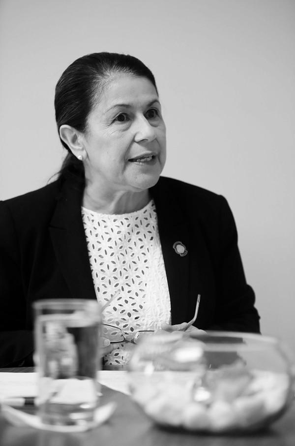 Sonia Marta Mora.
