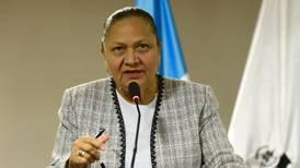 EE. UU. incluye a fiscala general de Guatemala en lista de funcionarios corruptos