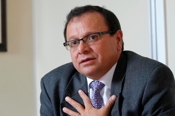 Ubaldo Carrillo es el director de Pensiones del régimen de Invalidez, Vejez y Muerte (IVM) de la Caja Costarricense de Seguro Social (CCSS). Fotos: Mayela López.