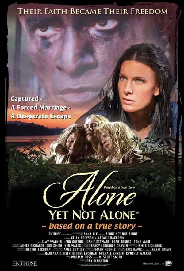 Póster de la película 'Alone Yet Not Alone'.