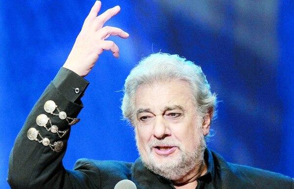 Actualmente, Plácido Domingo tiene 78 años de edad. Su carrera y prestigio están en peligro por estas acusaciones. Archivo