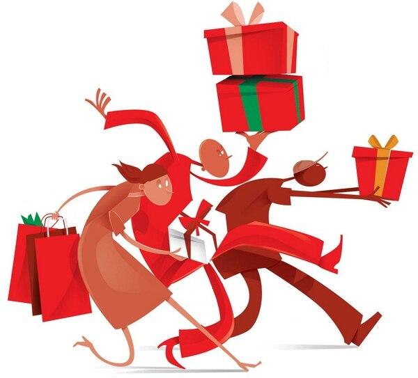 compras navideñas, navidad