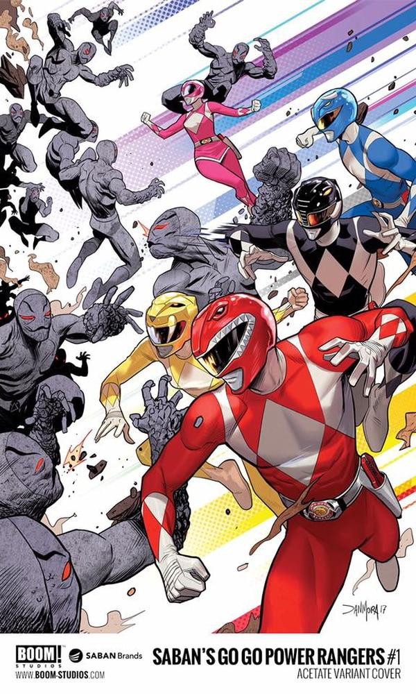 El comic fue escrito por Ryan Parrot y será ilustrado por Dan Mora. Aquí los elegidos por Zordon se enfrentan a los patrulleros.