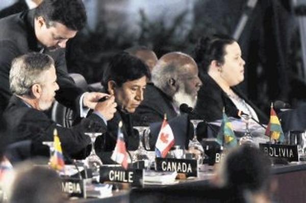 OEA, dividida sobre estrategia de lucha contra narcotráfico - 1