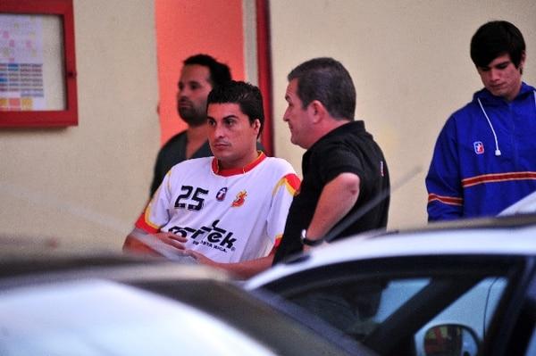 Castro (25), antes de un entrenamiento en el Eladio Rosabal Cordero esta temporada.   ARCHIVO