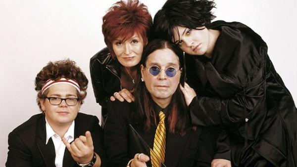 Así se veían los Osbournes entre el 2002 y 2005 cuando grabaron su reality show.