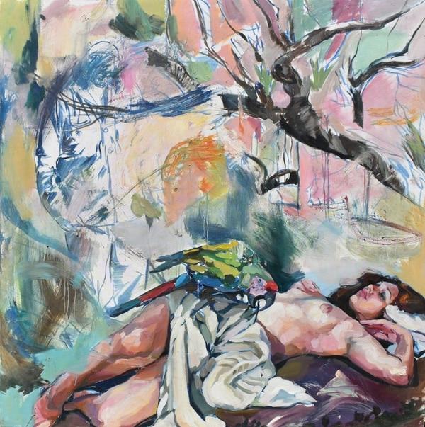 'El árbol de la vida' de Phillip Anaskin. Cortesía de la Embajada de Chile.