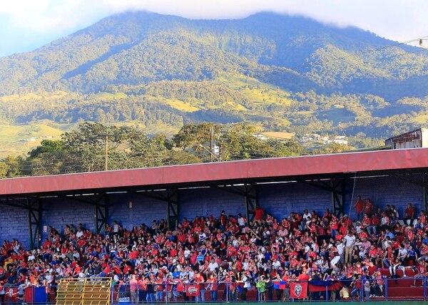 El estadio Carlos Ugalde espera tener a finales de este año energía solar como su fuente para abastecerse. Fotografía: Rafael Pacheco.