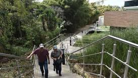La ciudad de San José inaugura sendero ecológico para mejorar movilidad de las personas