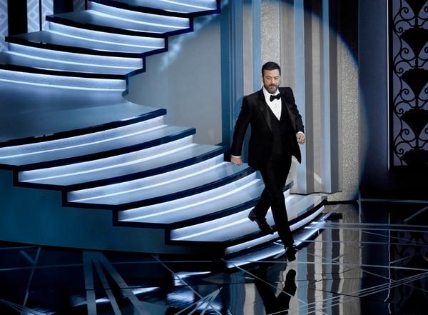 Jimmy Kimmel fue el anfitrión de los Óscar en el 2017.