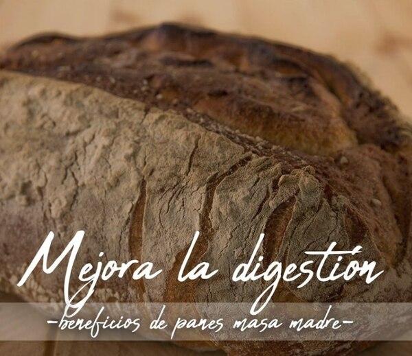 Difundir los beneficios del pan hecho con masa madre en sus redes sociales es uno de los objetivos de Arte Pan Cr. Tomado del Facebook de Arte Pan CR