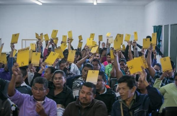 Esta semana se realizó el segundo encuentro nacional de consulta indígena en el Instituto Centroamericano de Estudios Sociales (ICAES) en Coronado. Foto: cortesía Casa Presidencial