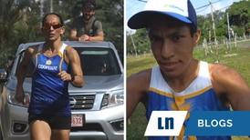 Atletas ticos dominaron la carrera virtual La Milla Latinoamericana