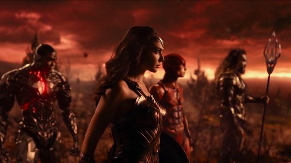 Mujer Maravilla, Flash, Aquaman y Cyborg, cuatro paladines presentes en Liga de la Justicia. Rola para LN