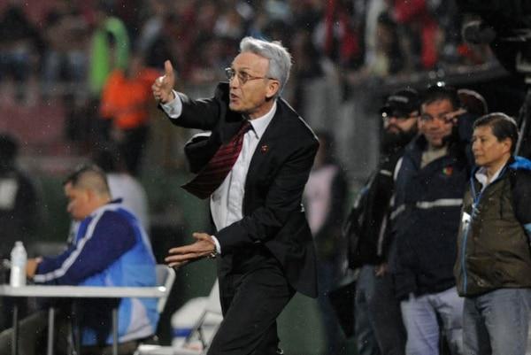 El técnico de Alajuelense, Benito Floro, insiste en que no han obtenido los resultados que merecen debido al infortunio.
