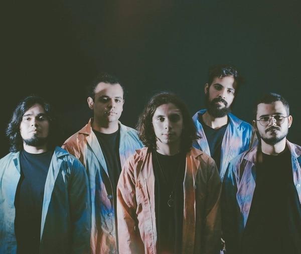 El sexteto Jug Bundish se formó en el 2013. Ellos son Andrés Mora, Fabricio Jiménez, Fernando Obando y Quico Céspedes. Foto: cortesía de Alo Murillo.