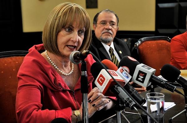 La exdefensora de los Habitantes es acusada por uso de documento falso y coacción. Foto: Mayela López.