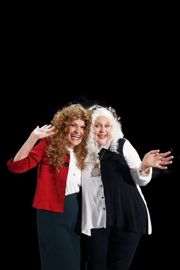 María Torres y Marcia Saborío volverán con 'Caras Vemos' durante 30 minutos por 12 viernes. Foto: Albert Marín.