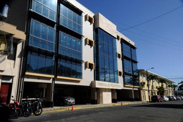El Tribunal de Flagrancia de Limón conoció en los primeros cinco meses de este año solamente cuatro casos. Fotografía Rafael Murillo